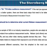 What's Wrong With TV Audience Measurement, How To Fix It
